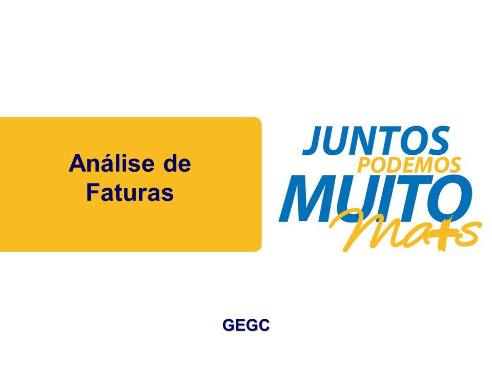Análise de Faturas GEGC