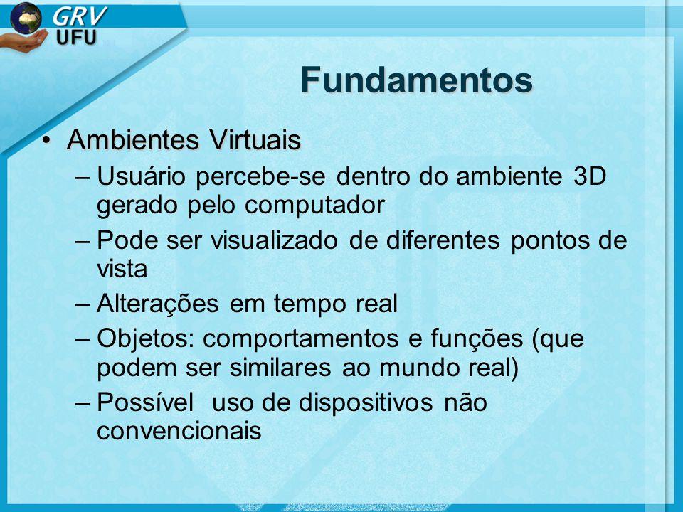 Fundamentos Ambientes Virtuais