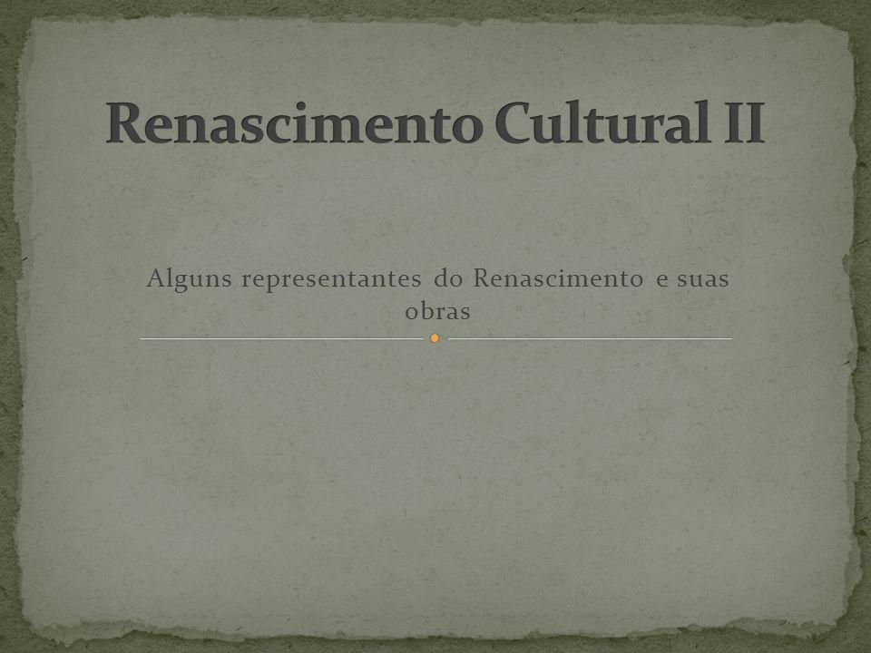 Renascimento Cultural II