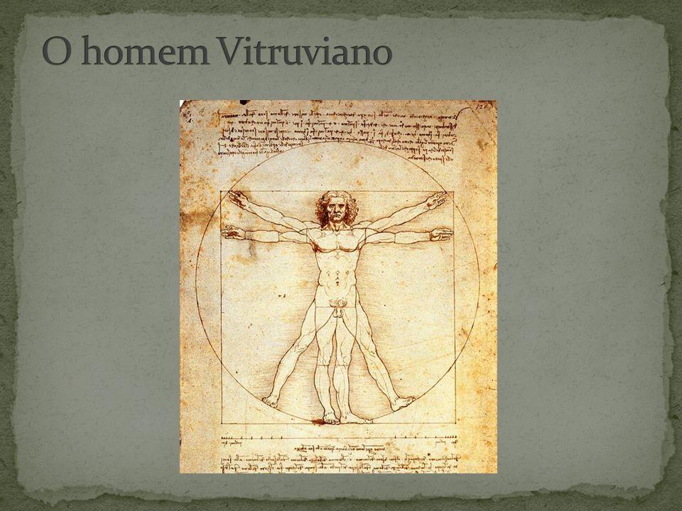 O homem Vitruviano