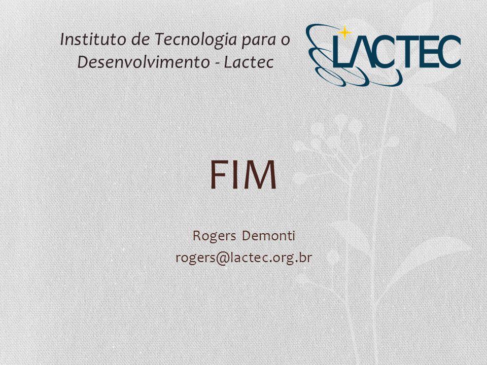 Instituto de Tecnologia para o Desenvolvimento - Lactec