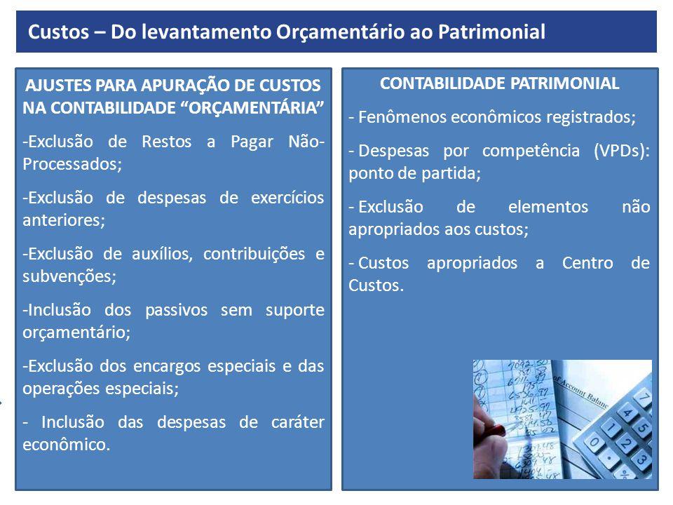 CONVERGÊNCIA AOS PADRÕES INTERNACIONAIS