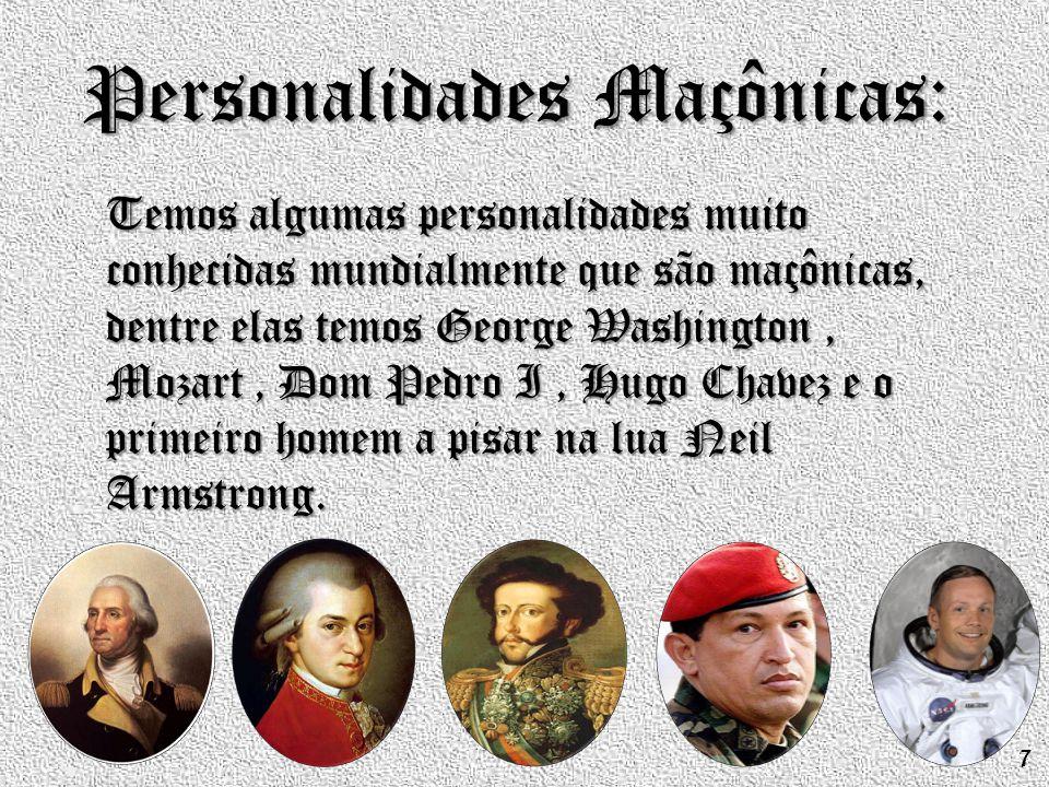 Personalidades Maçônicas: