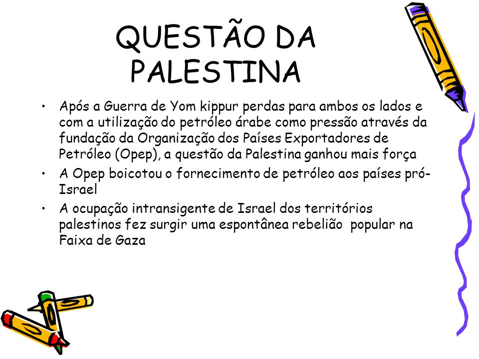 QUESTÃO DA PALESTINA