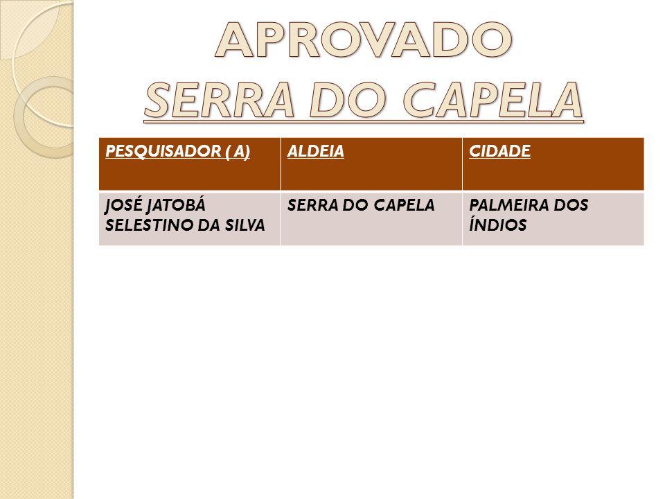 APROVADO SERRA DO CAPELA