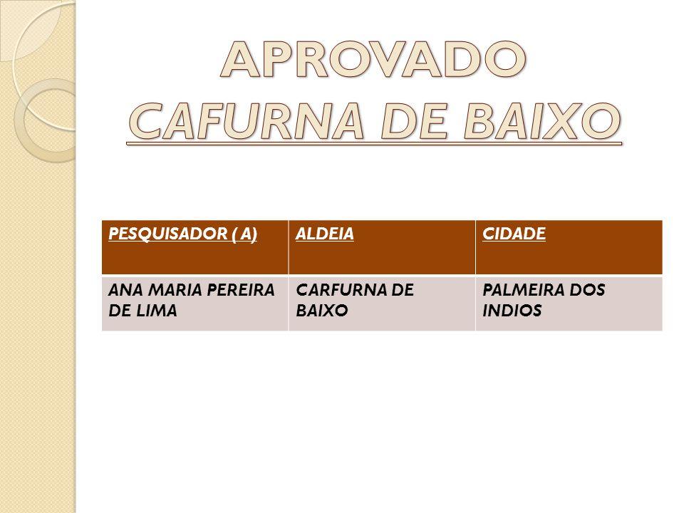 APROVADO CAFURNA DE BAIXO
