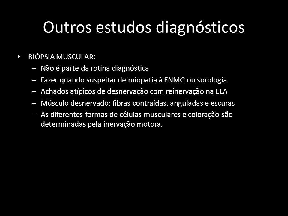 Outros estudos diagnósticos