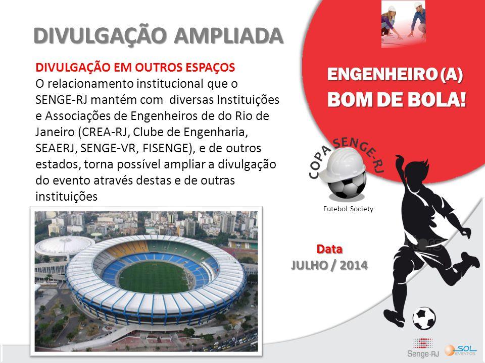DIVULGAÇÃO AMPLIADA BOM DE BOLA! ENGENHEIRO (A)