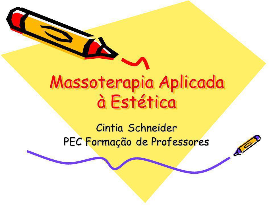 Massoterapia Aplicada à Estética