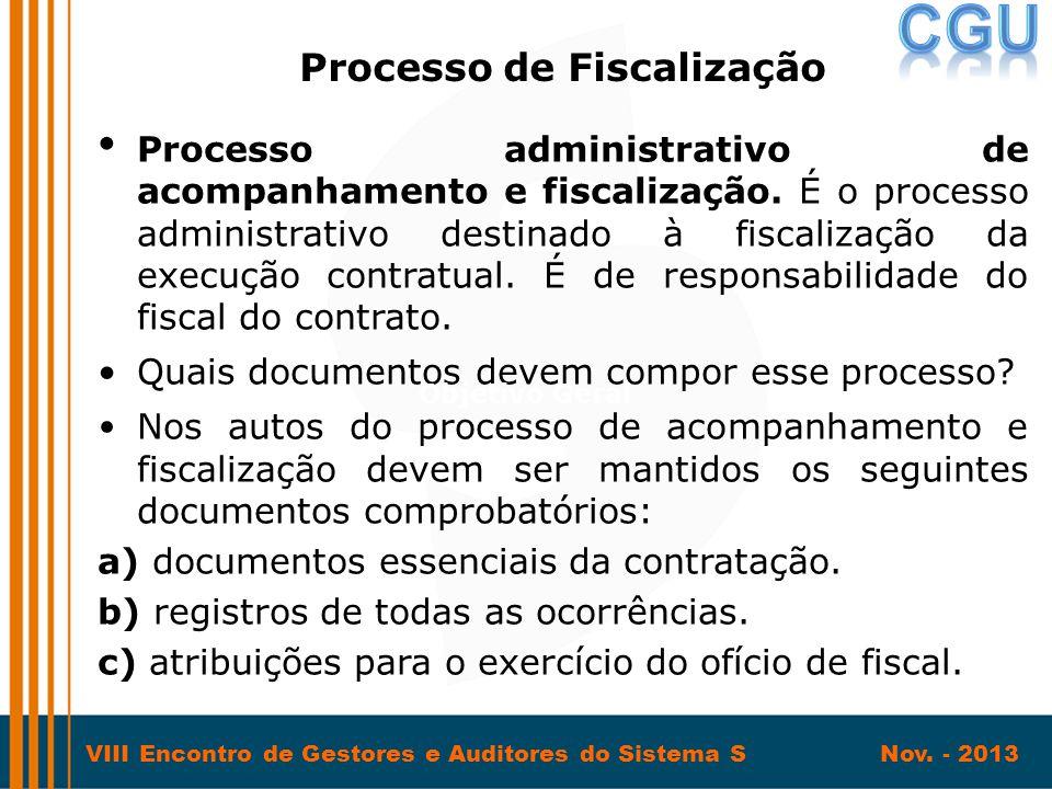 Processo de Fiscalização