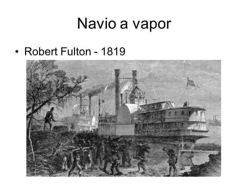 Navio a vapor Robert Fulton - 1819