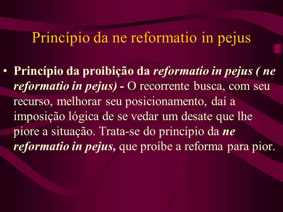 Princípio da ne reformatio in pejus