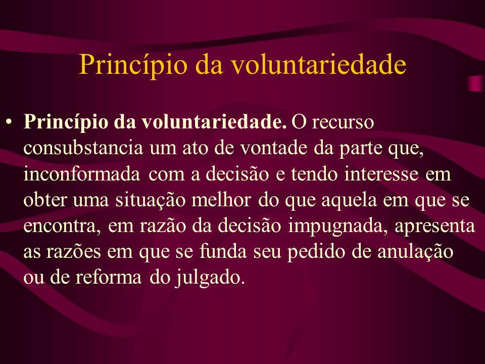Princípio da voluntariedade