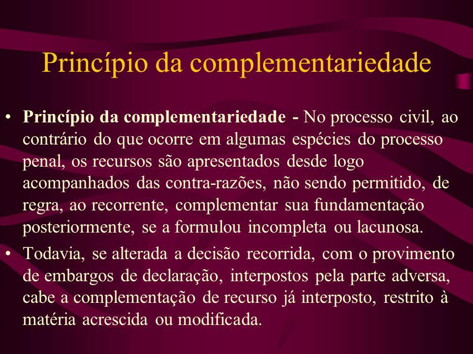 Princípio da complementariedade