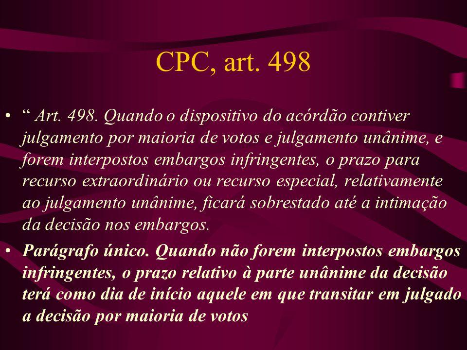 CPC, art. 498