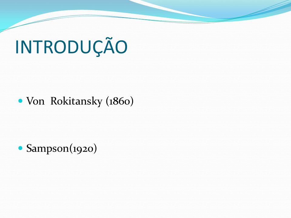 INTRODUÇÃO Von Rokitansky (1860) Sampson(1920)