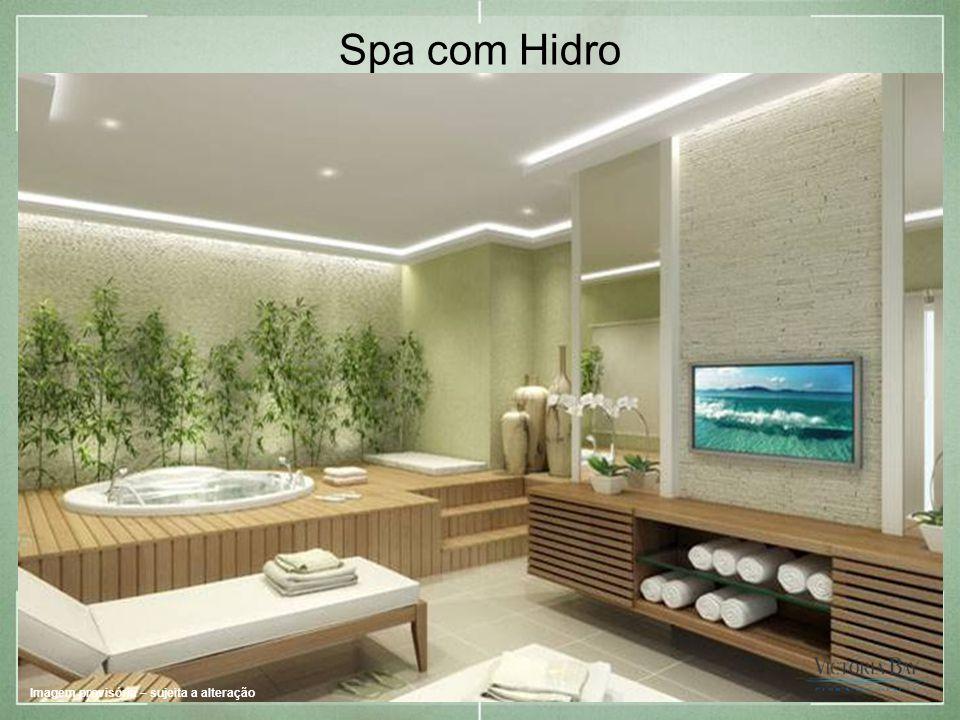 Spa com Hidro Imagem provisória – sujeita a alteração