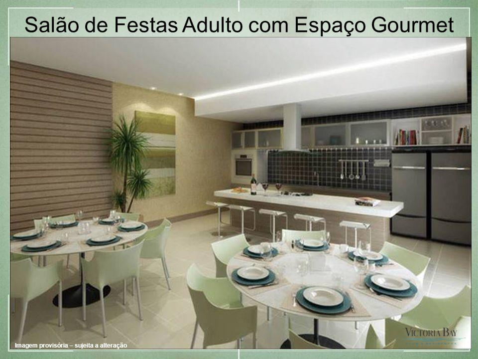 Salão de Festas Adulto com Espaço Gourmet