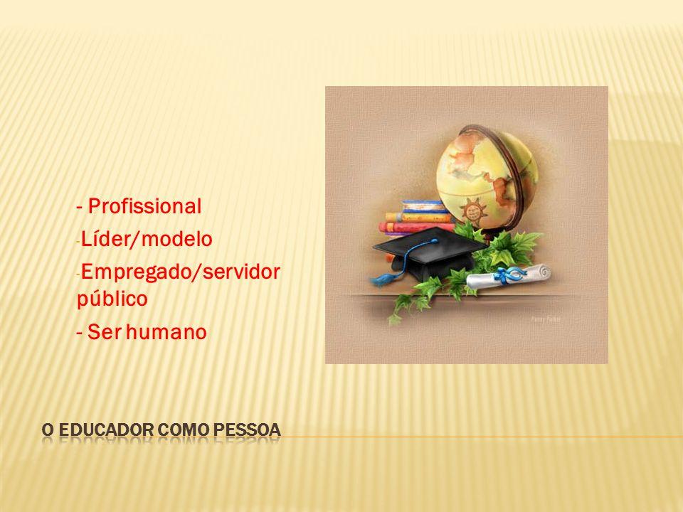 Empregado/servidor público - Ser humano