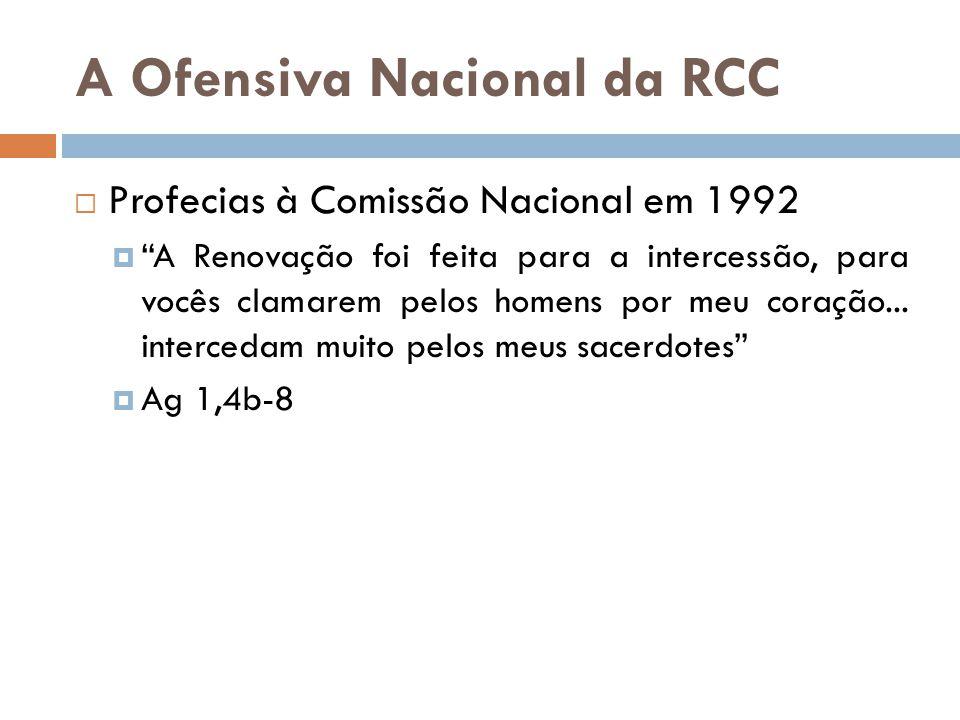 A Ofensiva Nacional da RCC