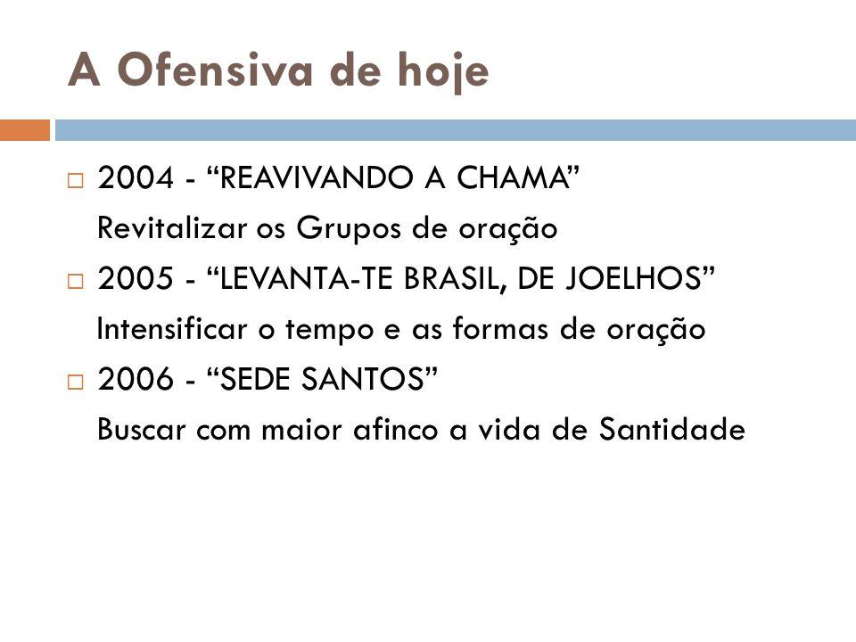 A Ofensiva de hoje 2004 - REAVIVANDO A CHAMA