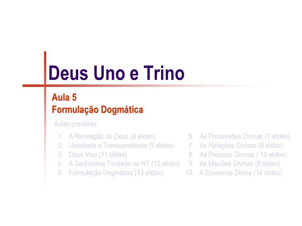 Aula 5 Formulação Dogmática