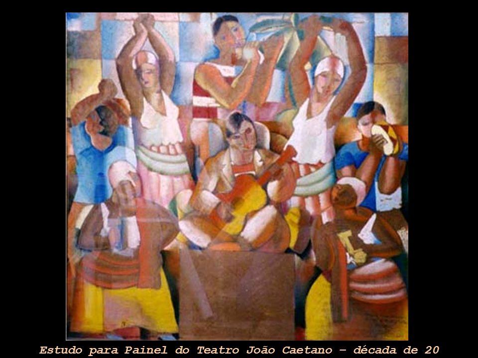 Estudo para Painel do Teatro João Caetano – década de 20