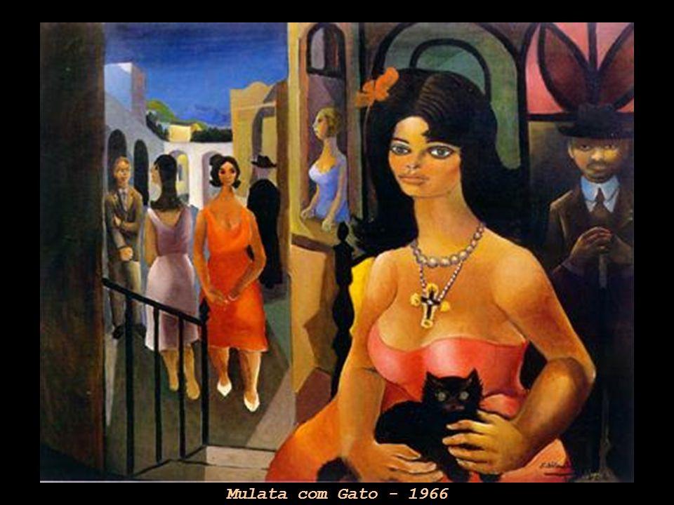 Mulata com Gato - 1966
