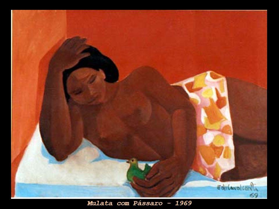Mulata com Pássaro - 1969