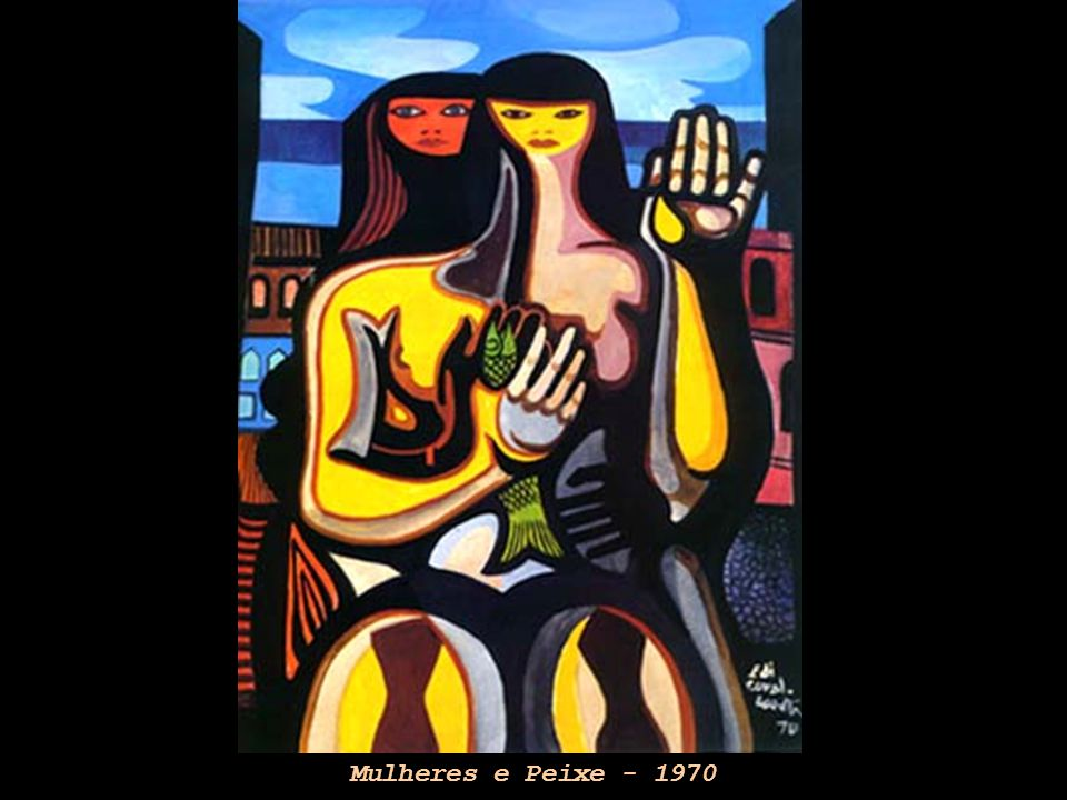 Mulheres e Peixe - 1970