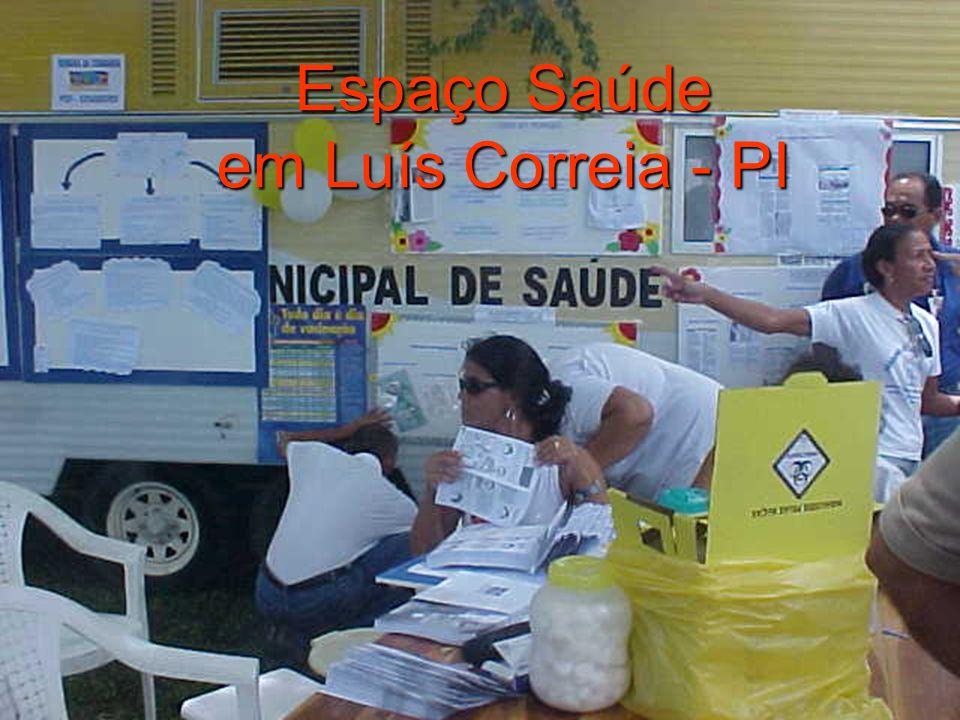 Espaço Saúde em Luís Correia - PI