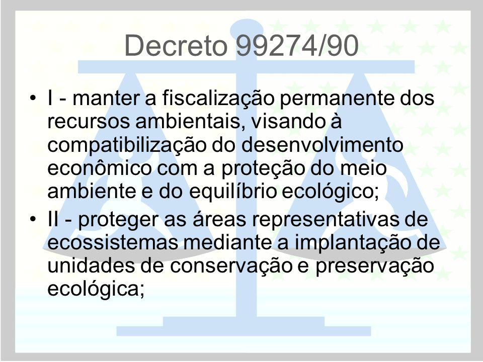 Decreto 99274/90