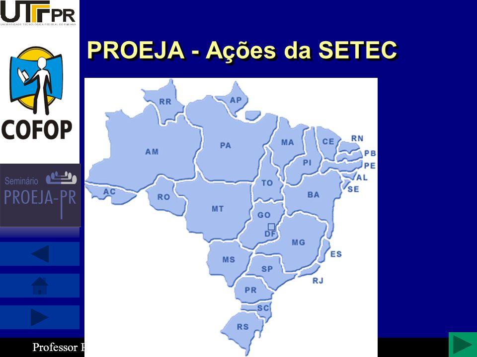 PROEJA - Ações da SETEC