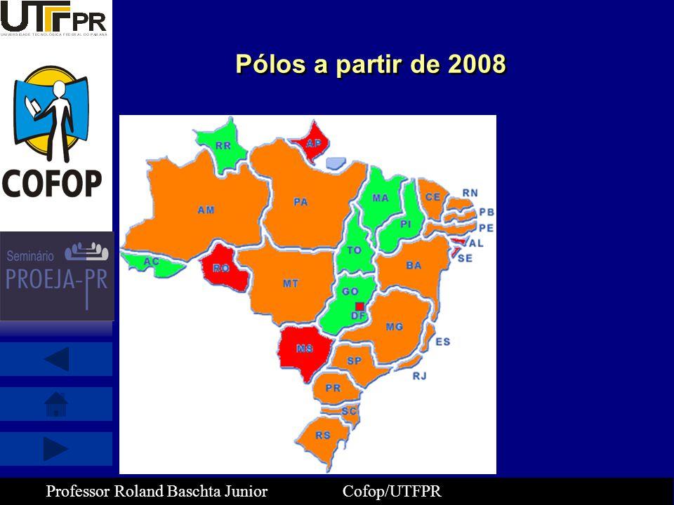 Pólos a partir de 2008