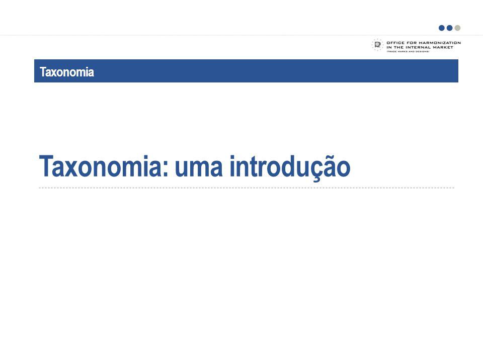 Taxonomia: uma introdução