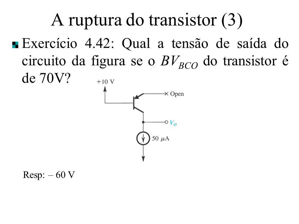 A ruptura do transistor (3)