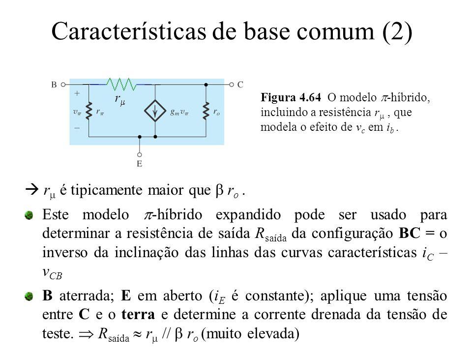 Características de base comum (2)