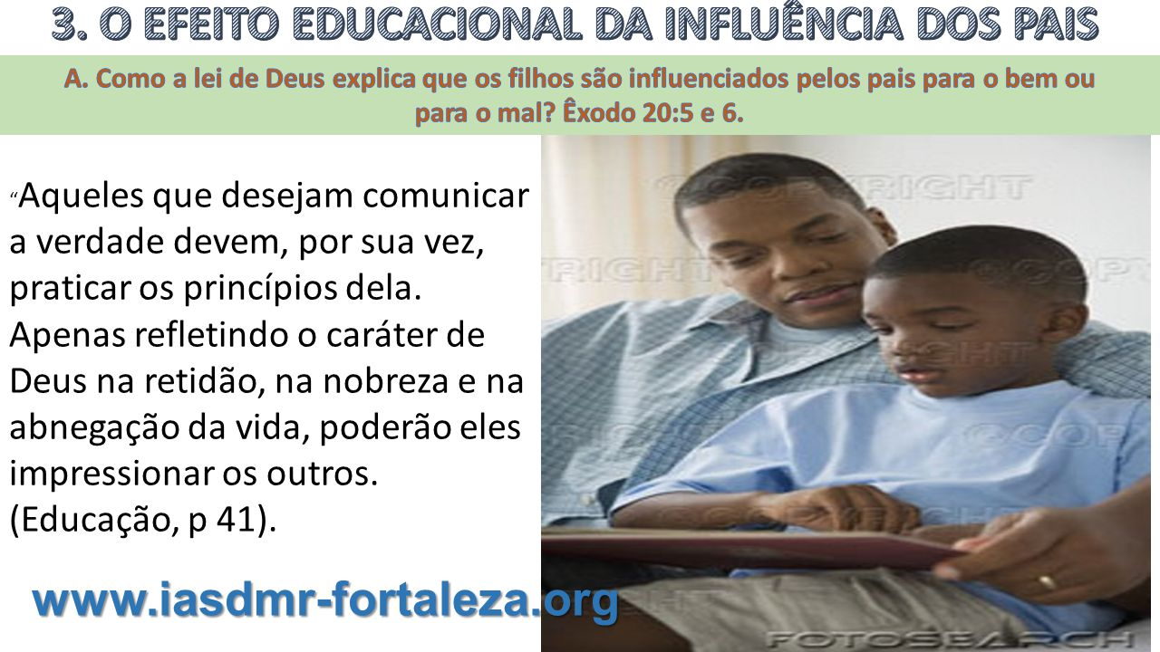 3. O EFEITO EDUCACIONAL DA INFLUÊNCIA DOS PAIS
