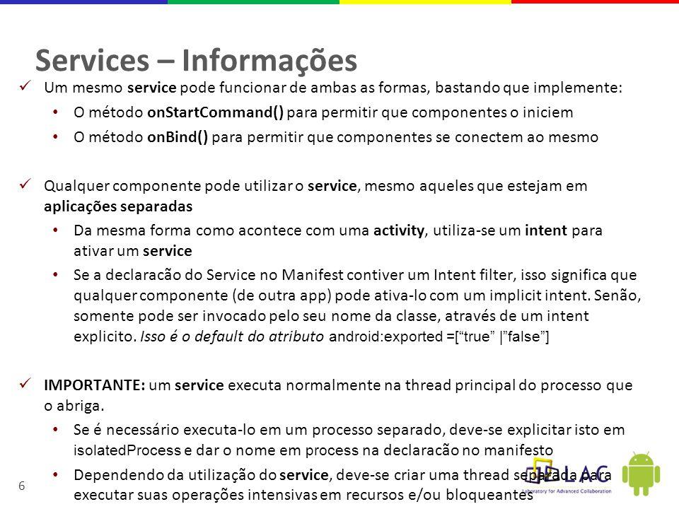 Services – Informações