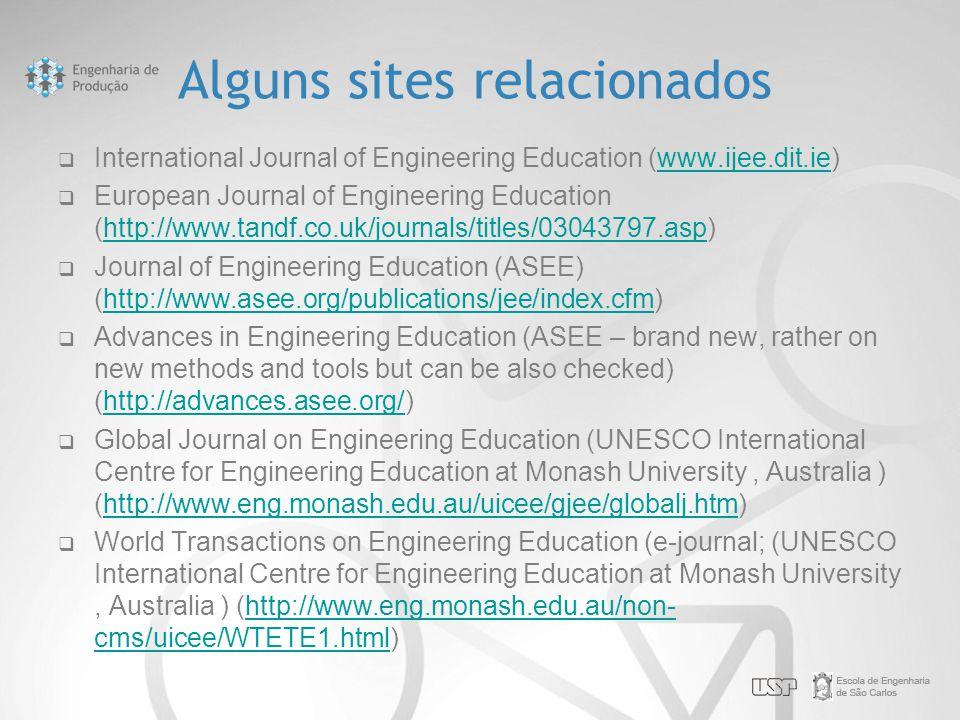 Alguns sites relacionados