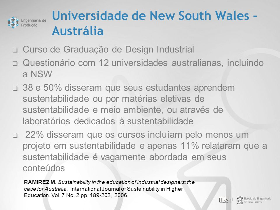 Universidade de New South Wales - Austrália