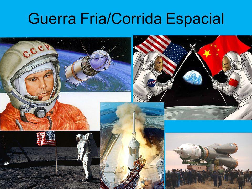 Guerra Fria/Corrida Espacial
