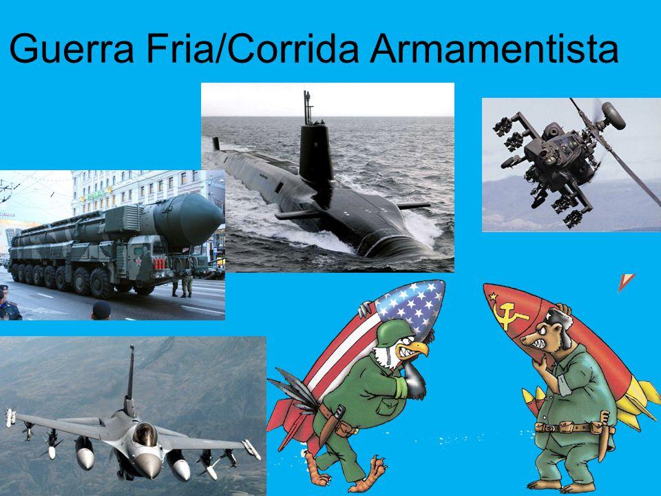 Guerra Fria/Corrida Armamentista