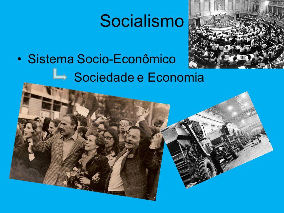 Socialismo Sistema Socio-Econômico Sociedade e Economia