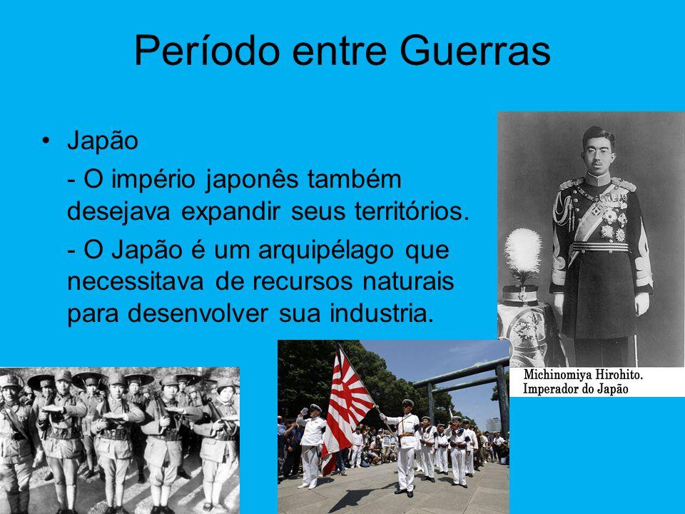Período entre Guerras Japão