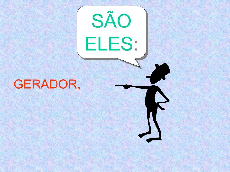 SÃO ELES: GERADOR,