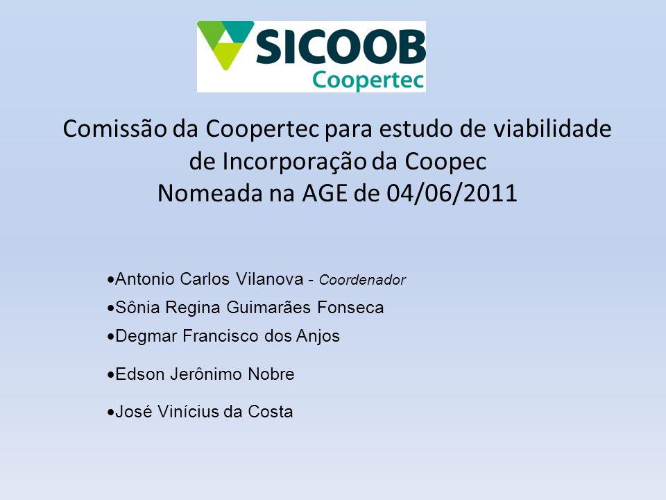 Comissão da Coopertec para estudo de viabilidade de Incorporação da Coopec Nomeada na AGE de 04/06/2011