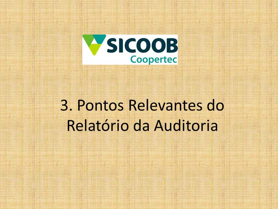 3. Pontos Relevantes do Relatório da Auditoria