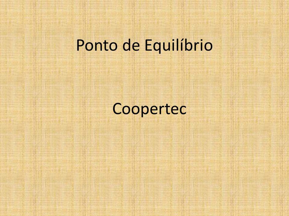 Ponto de Equilíbrio Coopertec