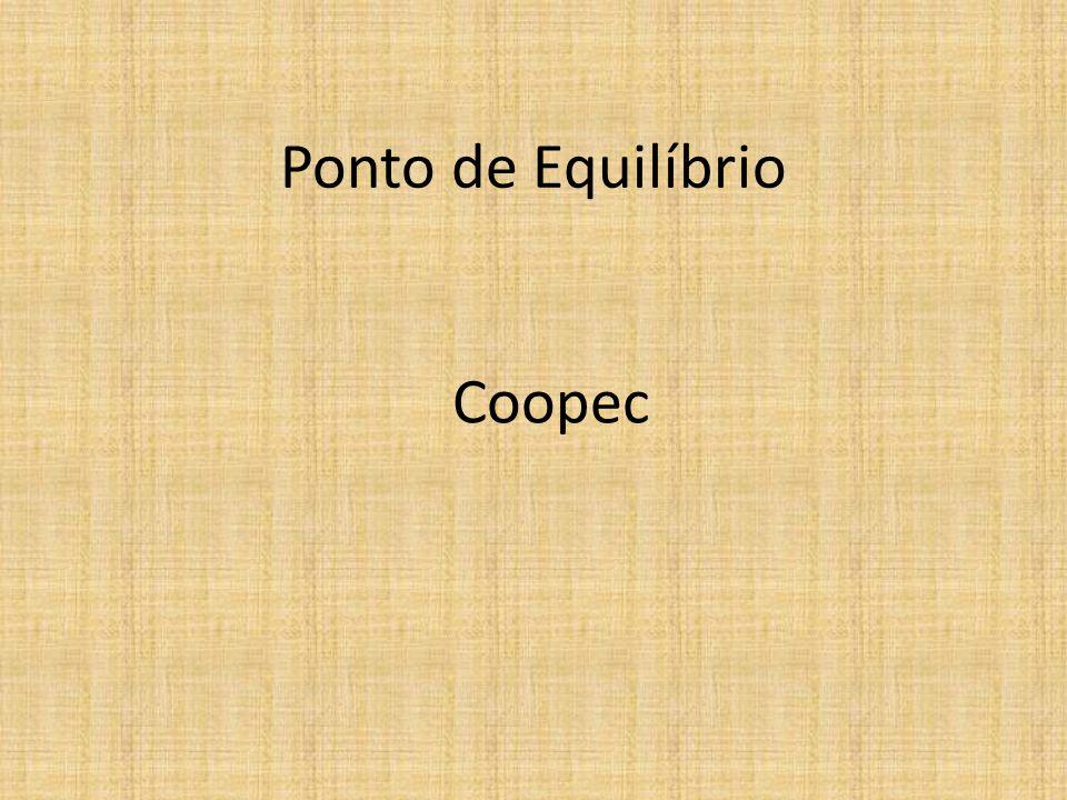 Ponto de Equilíbrio Coopec